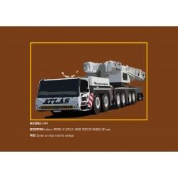 MHM Model Heavy Motor 1:87 Liebherr LTMI300-6.2 (ATLAS)