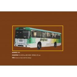 MHM Model Heavy Motor 1:87 M.A.N. SU240 Bus (Boa Viagem)