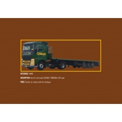 MHM Model Heavy Motor 1:87 Volvo FH with trailer (CHAGAS)