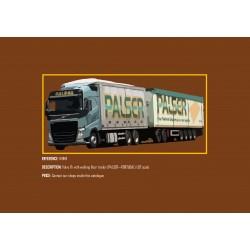 MHM Model Heavy Motor 1:87 Volvo FH with Walking Floor Trailer (PALSER)