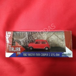 Greenlight 1:43 1967 Austin Mini Cooper S 1275 MKI (Red)