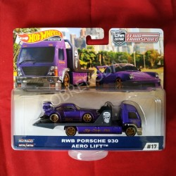 Hot Wheels 1:64 RWB Porsche 930 + Aero Lift (Team Transporter 17)