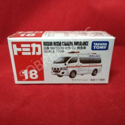 Tomica 1:69 Nissan NV350 Caravan Ambulance