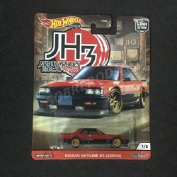 Hot Wheels 1:64 Nissan Skyline RS (KDR30) (Japan Historics 3)