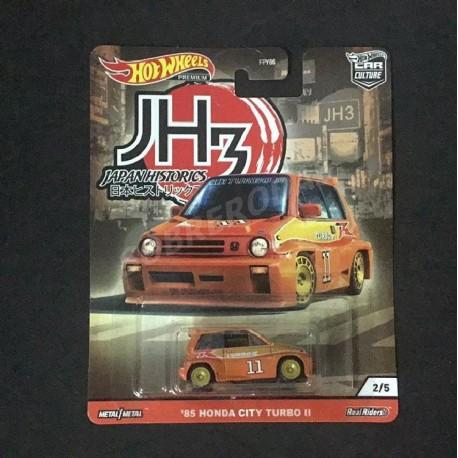 Hot Wheels 1:64 '85 Honda City Turbo II (Japan Historics 3)