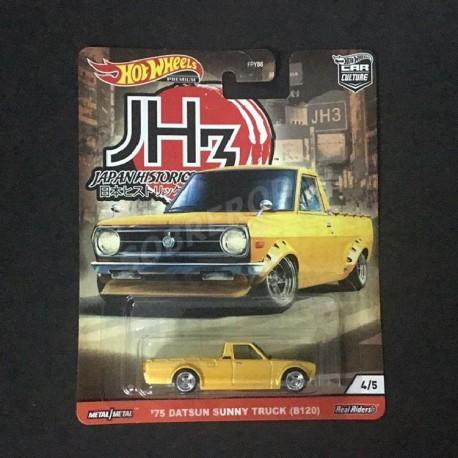 Hot Wheels 1:64 '75 Datsun Sunny Truck (B120) (Japan Historics 3)