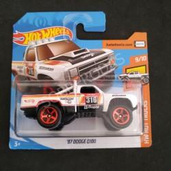 Hot Wheels 1:64 '87 Dodge D100