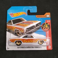 Hot Wheels 1:64 '68 Plymouth Barracuda Formula S