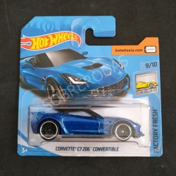 Hot Wheels 1:64 Corvette C7 Z06 Convertible