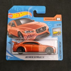 Hot Wheels 1:64 Jaguar XE SV Project 8