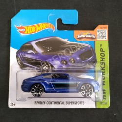 Hot Wheels 1:64 Bentley Continental Supersports