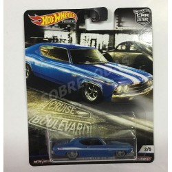Hot Wheels 1:64 '69 Chevelle SS 396 (Car Culture: Cruise Boulevard)