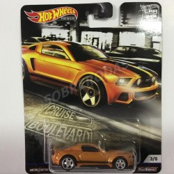 Hot Wheels 1:64 2014 Custom Mustang (Car Culture: Cruise Boulevard)