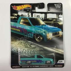 Hot Wheels 1:64 Custom '93 Nissan Hardbody (D21) (Car Culture: Cruise Boulevard)