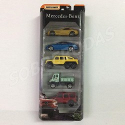 Matchbox 1:64 Mercedes-Benz 5-Pack (Limited Edition)