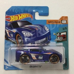 Hot Wheels 1:64 C6 Corvette ('Tooned)