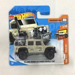 Hot Wheels 1:64 '15 Land Rover Defender Double Cab