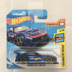 Hot Wheels 1:64 '16 Mercedes-AMG GT3