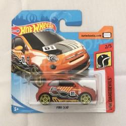 Hot Wheels 1:64 Fiat 500