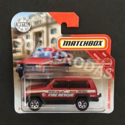 Matchbox 1:64 Jeep Cherokee Police