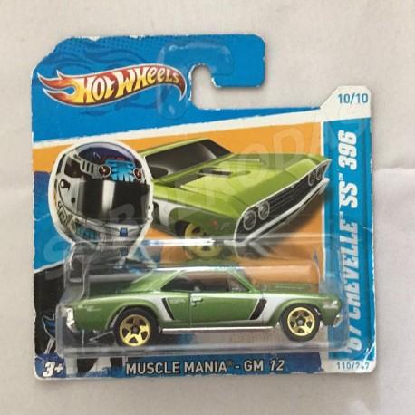 Hot Wheels 1:64 '67 Chevelle SS 396