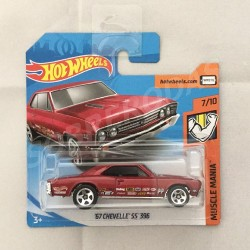 Hot Wheels 1:64 '67 Chevelle SS 396