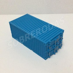 3D 1:64 Contentor (Azul)