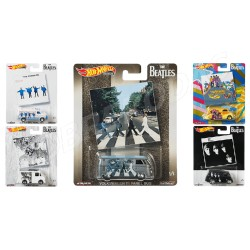 Hot Wheels 1:64 Pop Culture: The Beatles 2019 (Set)