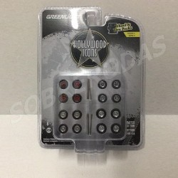 Greenlight 1:64 Hollywood Icons Wheel & Tyre Pack