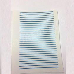 Decalques 1:43 Linhas Azuis