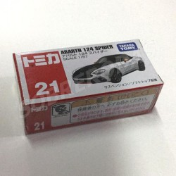 Tomica 1:57 Abarth 124 Spider