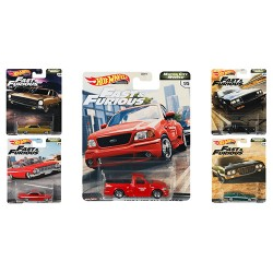 Hot Wheels 1:64 Fast & Furious Premium: Motor City Muscle (Set)