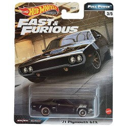 Hot Wheels 1:64 '71 Plymouth GTX