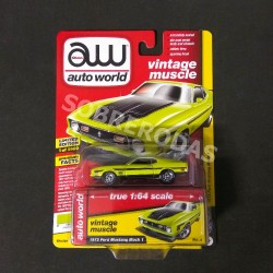 Auto World 1:64 1972 Ford Mustang Mach 1 (Version B)
