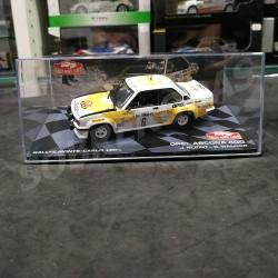 Magazine Models 1:43 Opel Ascona 400 (Rallye Monte-Carlo 1981)