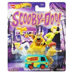 Hot Wheels 1:64 The Mystery Machine (Scooby-Doo)
