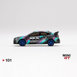 TSM Model Mini GT 1:64 Honda Civic Type R - HKS Time Attack