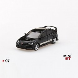 TSM Model Mini GT 1:64 Honda Civic Type R - HKS Black