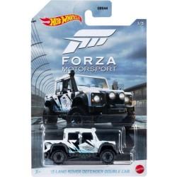 Hot Wheels 1:64 '15 Land Rover Defender Double Cab (Forza Motorsport)