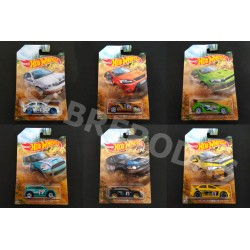 Hot Wheels 1:64 Backroad Rally Series (Set)
