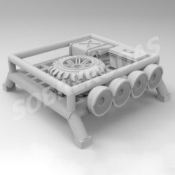 3DR 1:64 4x4 Roof Rack c/extras