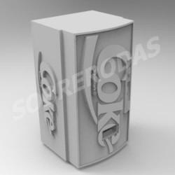 3DR 1:64 Máquina de Refrigerante Cola