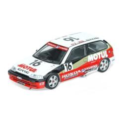 """Inno Models Inno64 1:64 Honda Civic EF3 Gr. A JTC No16 """"MOTUL"""" 1988"""
