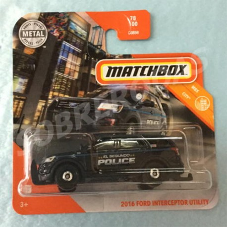 Matchbox 1:64 2016 Ford Interceptor Utility