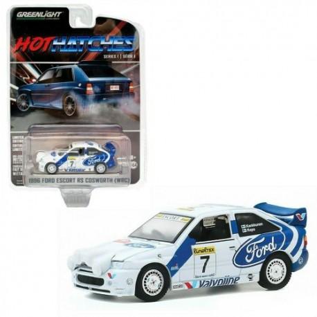 Greenlight 1:64 1996 Ford Escort RS Cosworth (1998 WRC No7 Rally Car)