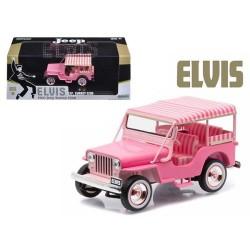 Greenlight 1:43 1960 Jeep Surrey CJ3B (Elvis)