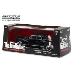 Greenlight 1:43 1941 Lincoln Continental (The Godfather)