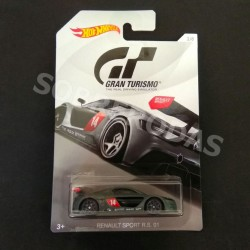 Hot Wheels 1:64 Renault Sports R.S. 01 (Gran Turismo 2018 Series)