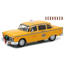 Greenlight 1:43 1978 Checker Taxi (Scrooged)