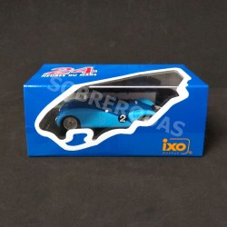 IXO Models 1:43 Bugatti Type 57G No.2 Winner 24h Le Mans 1937